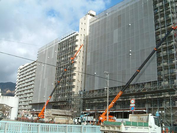 新生田川住宅17号棟外壁改修