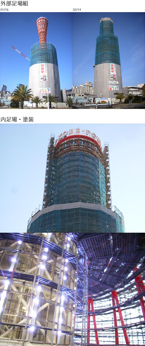 神戸ポートタワー改修工事